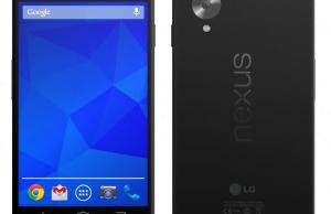 concept Google Nexus 5