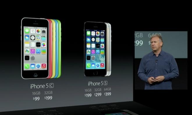 pret iphone 5s si iphone 5c
