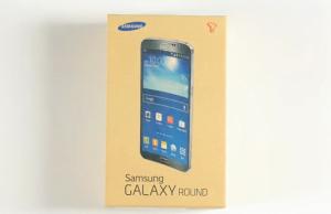 Samsung Galaxy Round despachetare