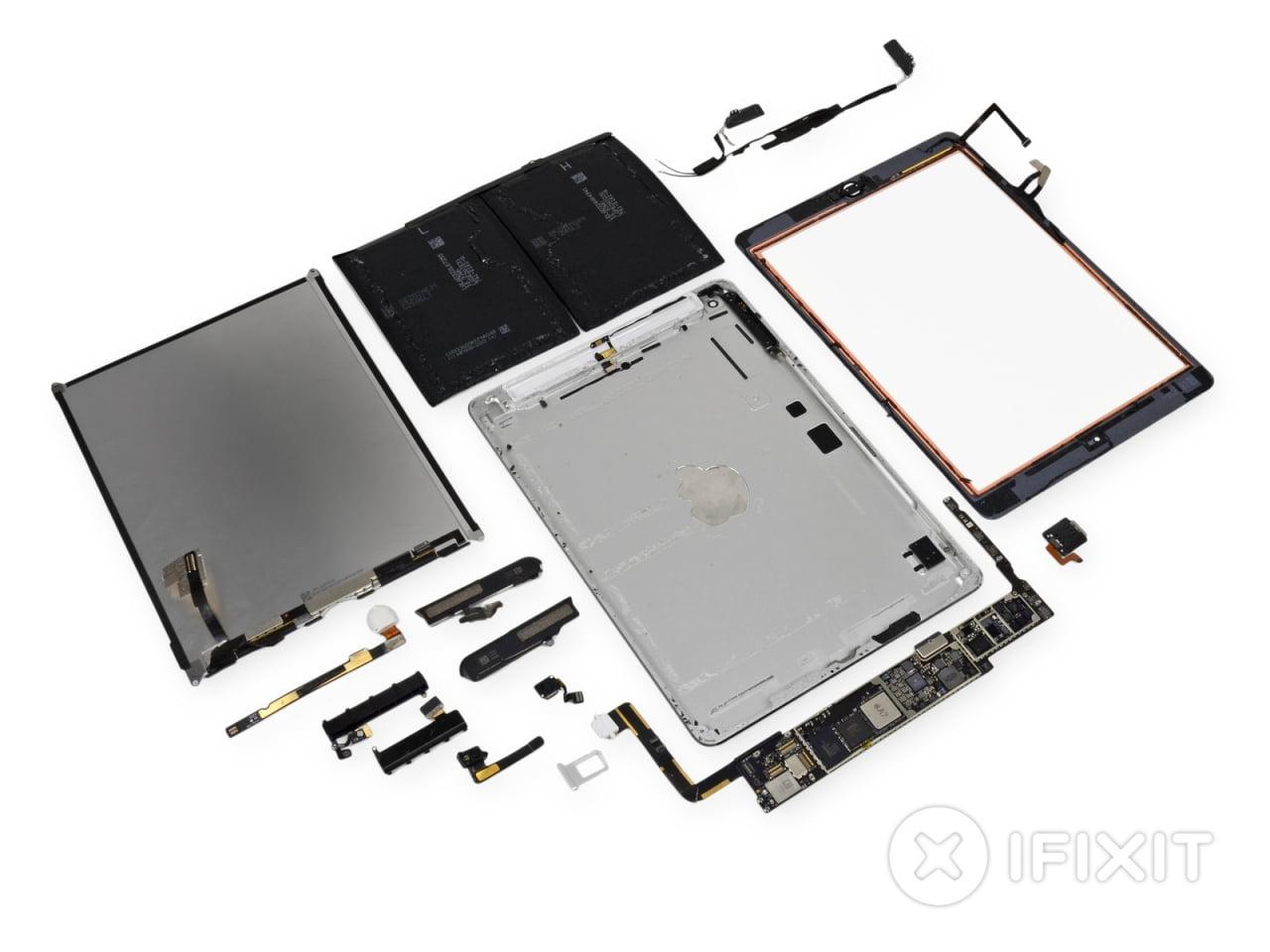 iPad Air desfacut