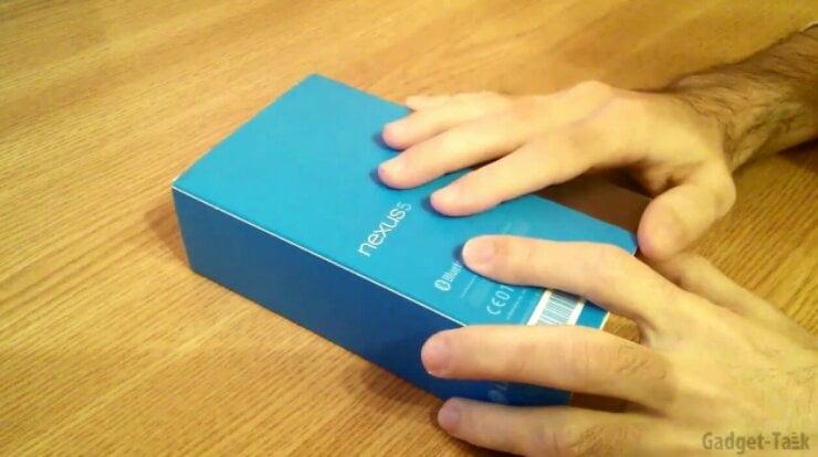 Nexus 5 despachetare