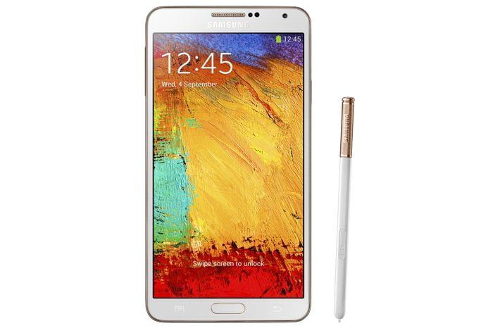Galaxy Note 3 Auriu