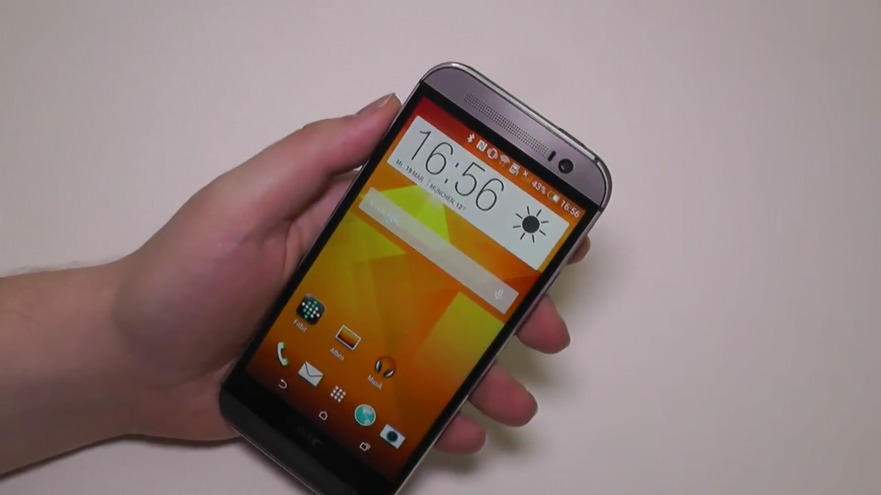 HTC One 2014 hands-on