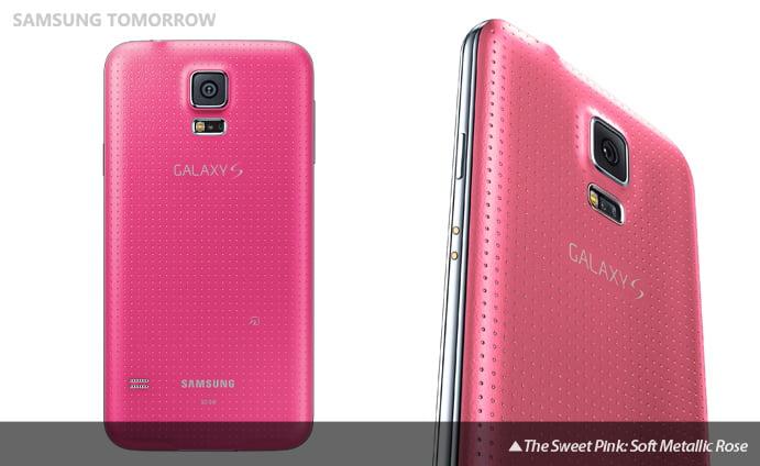 galaxy s5 roz