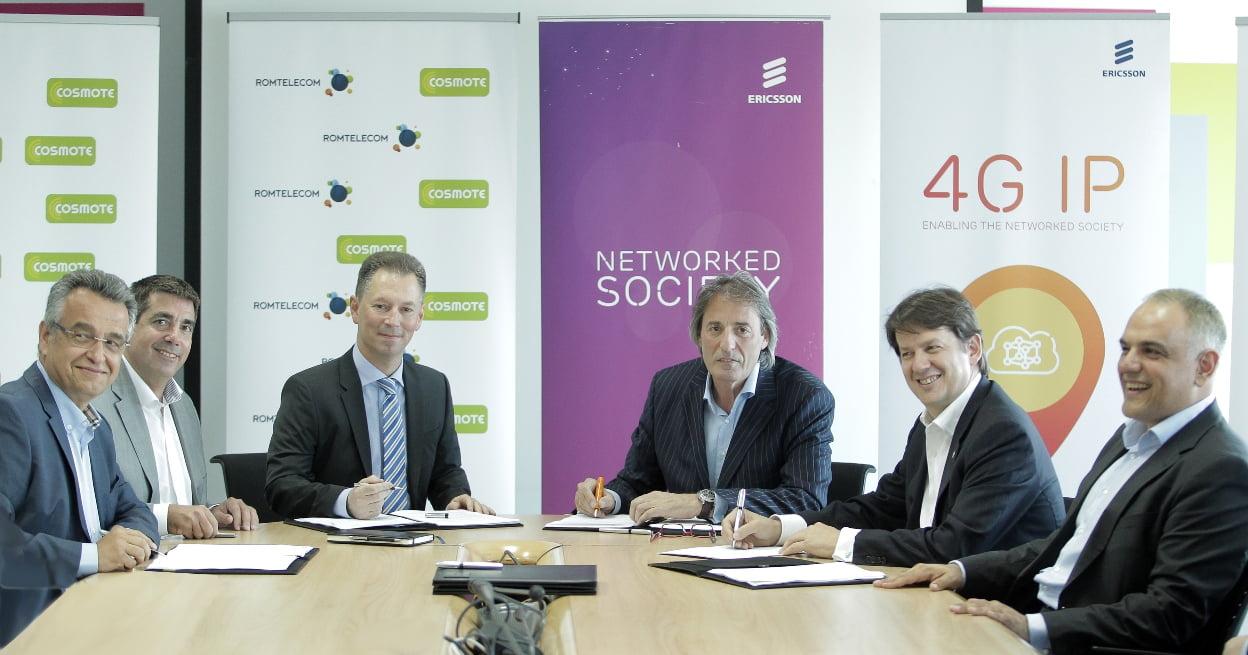 Parteneriat Cosmote si Ericsson