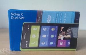 Despachetare Nokia X dual sim