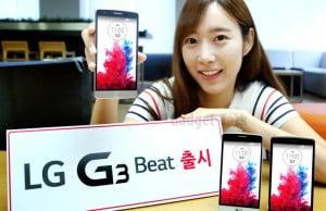 G3 Beat anuntat