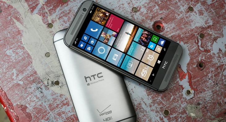 One M8 cu Windows Phone