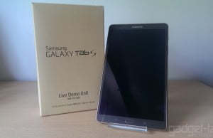 Despachetare Galaxy Tab S 8.4