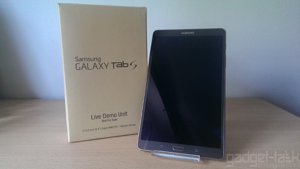 Despachetare Galaxy Tab S 8.4