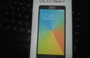 cutia telefonului Galaxy note 4
