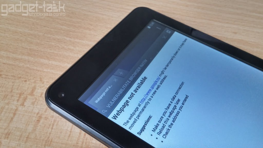 browerul nativ android