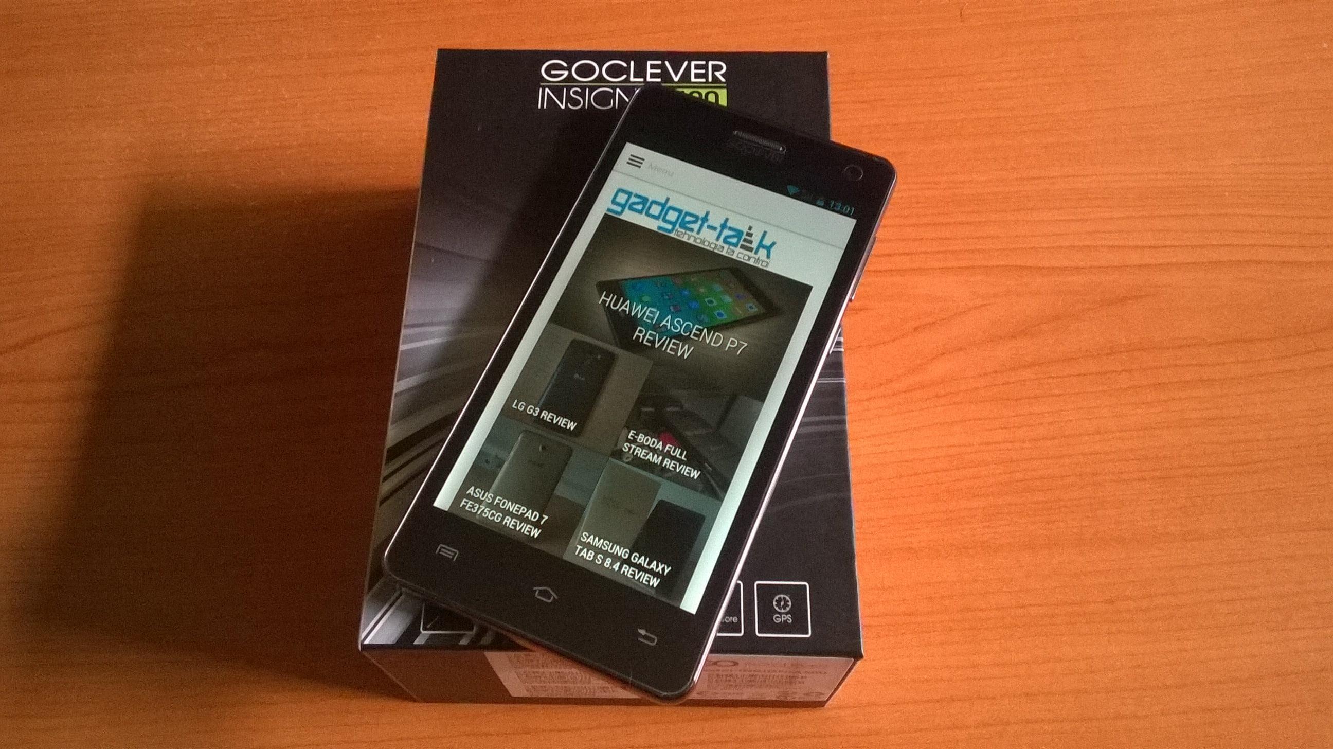 Despachetare GOCLEVER INSIGNIA 500
