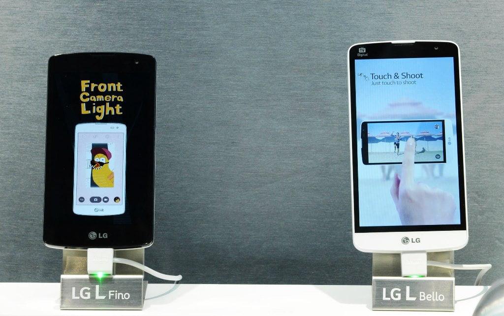 comercializarea telefoanelor L Fino si L Bello