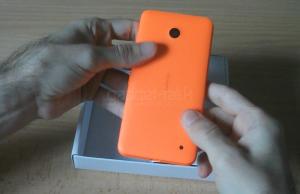 despachetare lumia 630