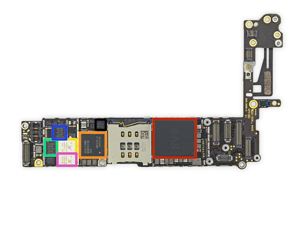 placa-baza-iphone5