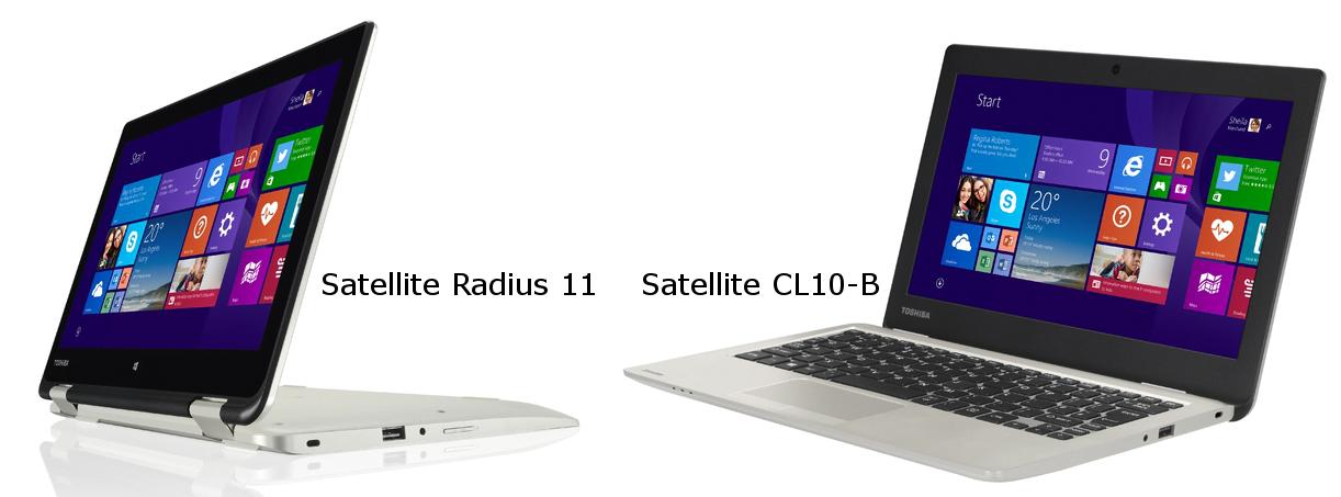 Satellite Radius 11 si Satellite CL10-B