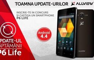 P6 Life primeste actualizare Android 4.4