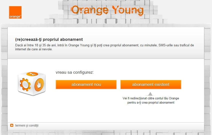 configuratorul online pentru abonamente orange