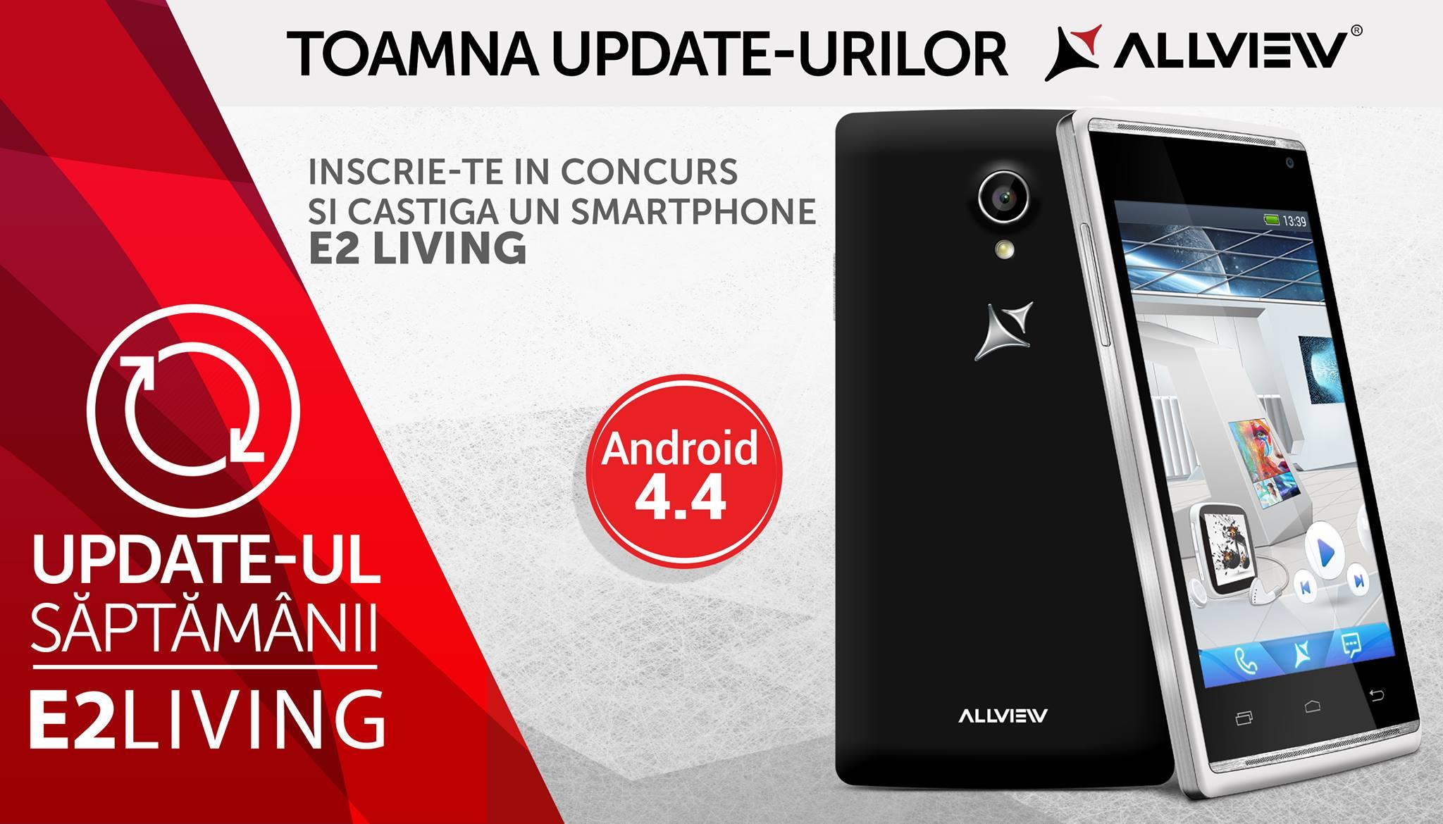 E2 Living Primeste Android 4.4