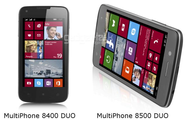 MultiPhone 8500 DUO si 8400 DUO