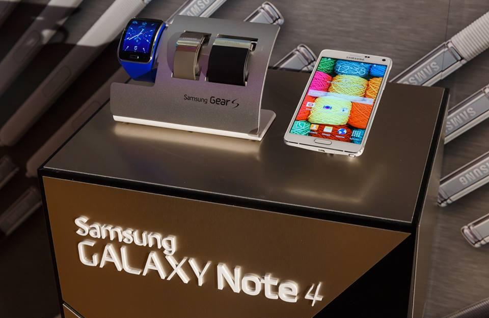 samsung galaxy note 4 si gear s