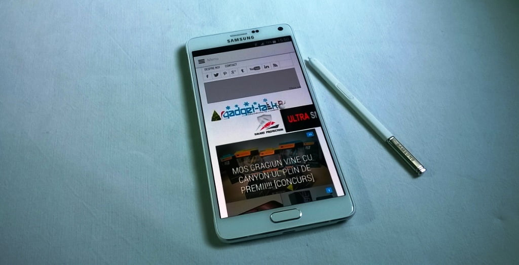 Samsung Galaxy Note 4, prezentarea generala