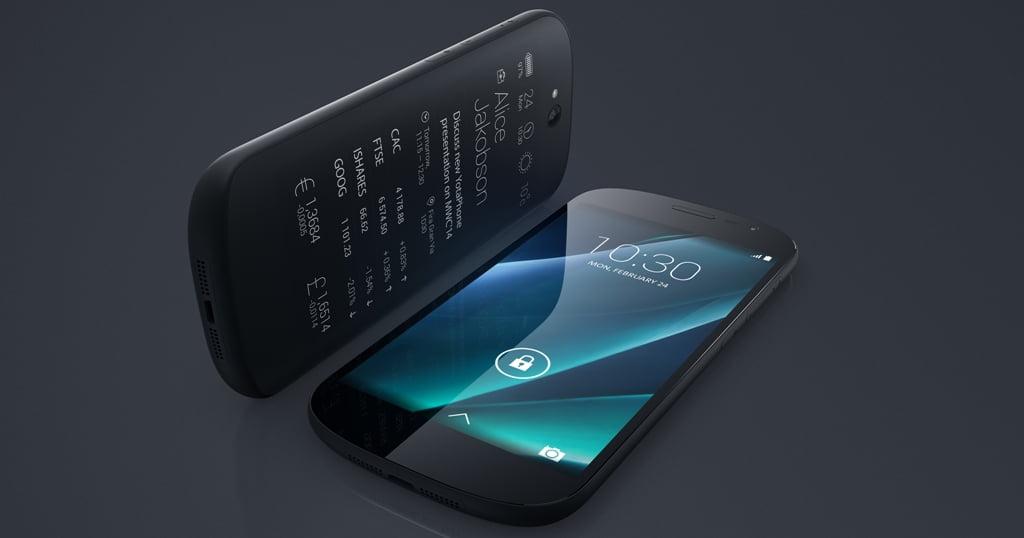 YotaPhone 2, lansat in Romania 5 dec