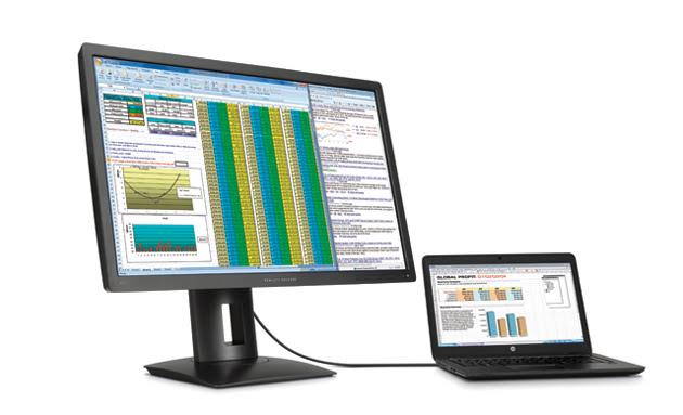 hp anunta primul monitor 5k