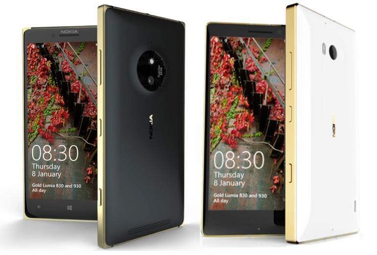 lumia 830 si 930 gold edition microsoft