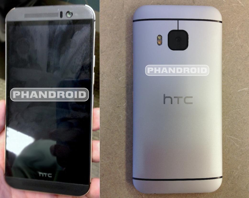 HTC One M9 pozeaza