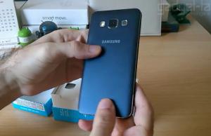 Despachetare Samsung Galaxy A3