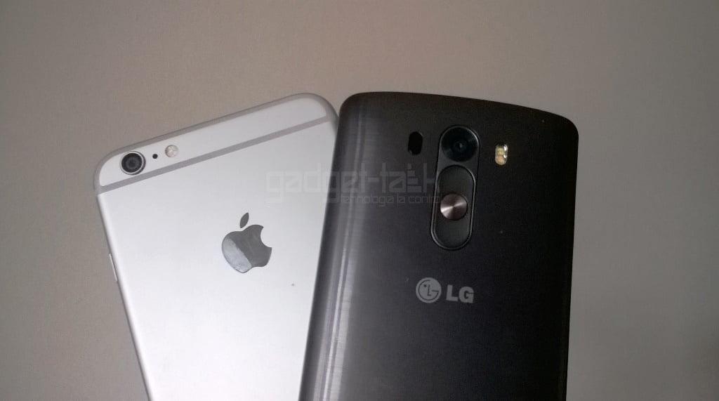 iPhone 6 si LG G3