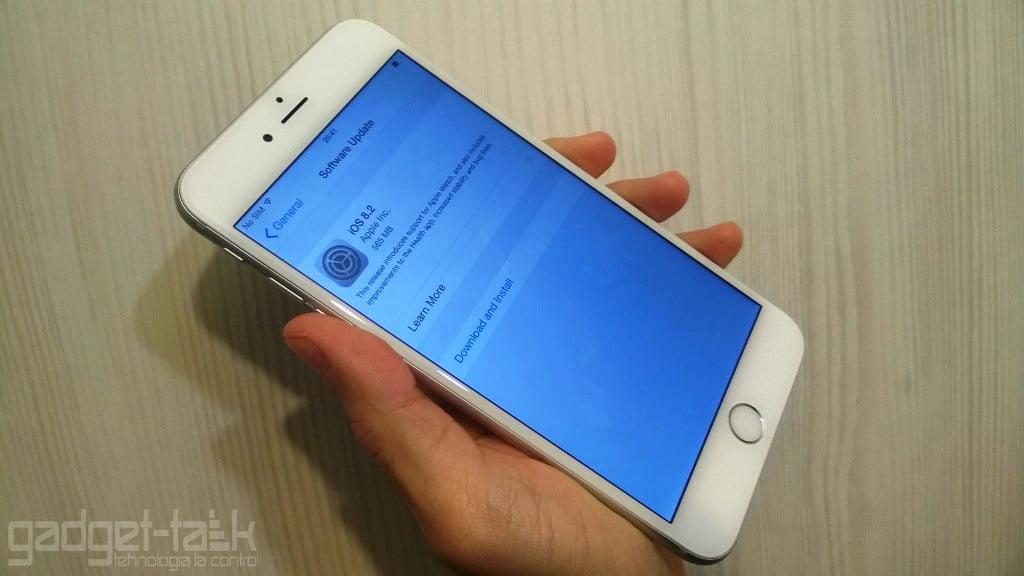 actualizarea iOS 8.2