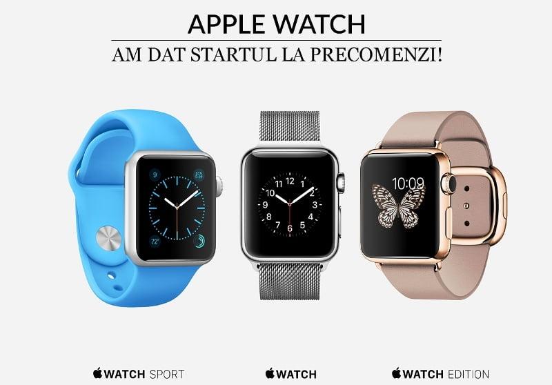 Quickmobile primeste precomenzi pentru Apple Watch