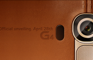 Modelul LG G4 cu carcasa din piele