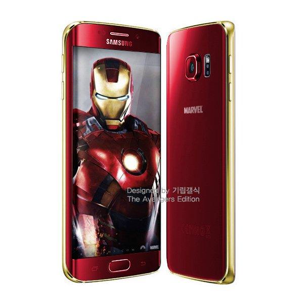 Galaxy-S6-Iron-Man