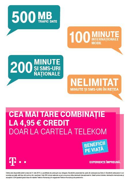 Oferta Telekom Prepaid de vara