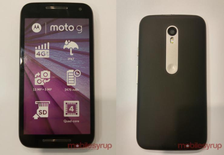 Motorola XT1550
