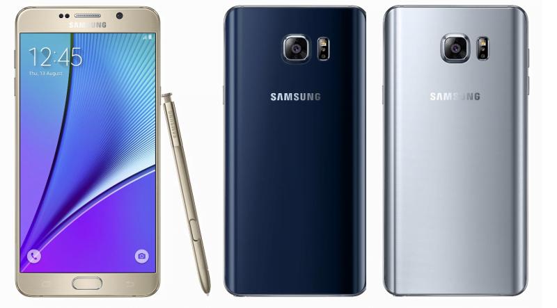 Comercializarea Galaxy Note 5 in Europa