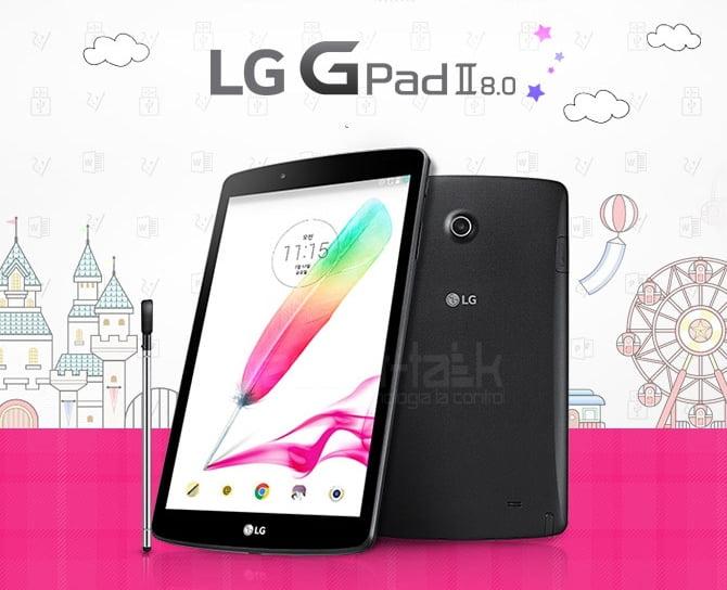 Tableta G Pad II 8.0 LGV498