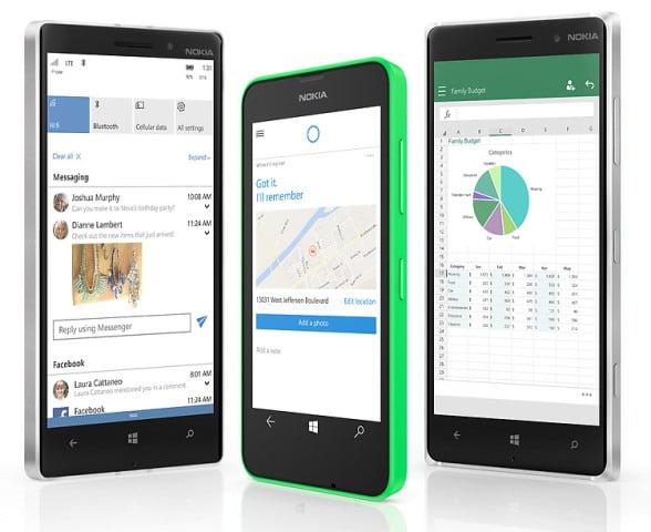 Telefoanele Lumia care primesc Windows 10 Mobile