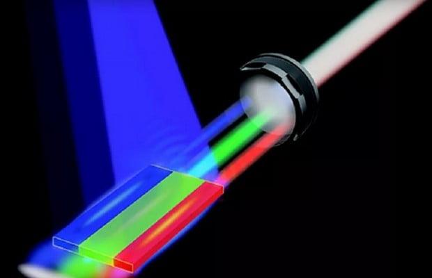white-laser
