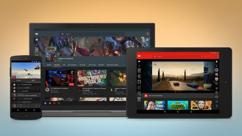 platforma Youtube Gaming