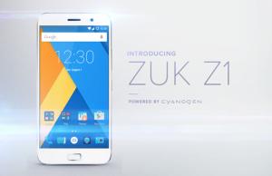 ZUK Z1 in varianta internationala va rula Cyanogen OS