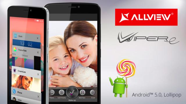 Viper E primeste actualizare Android 5.0 Lollipop