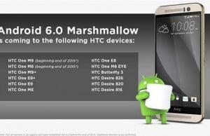 Lista telefoanelor HTC care vor primi Android 6.0 [confirmat]