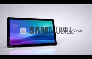 tableta galaxy view samsung