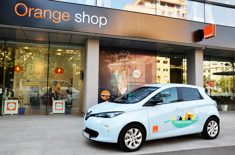 Orange e-cars