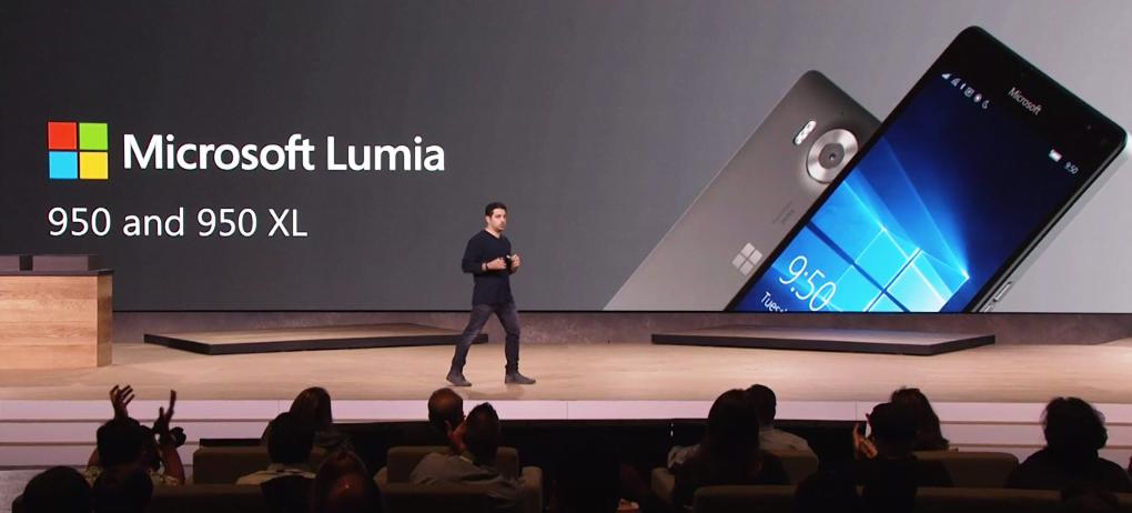 Microsoft anunta Lumia 950